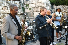 Billy Harper, David Weiss, Eddie Henderson and Craig Handy The Cookers Jerusalem Jazz Festival Soundcheck June 2007