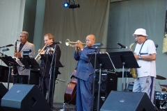 Billy Harper, David Weiss, Eddie Henderson and James Spaulding The Cookers Chicago Jazz Festival September 2007