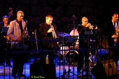 Cecil McBee, Billy Harper, David Weiss, Eddie Henderson and Craig Handy The Cookers Jerusalem Jazz Festival June 2007