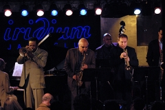 George Cables, James Spaulding, Freddie Hubbard, Christian McBride, David Weiss and Javon Jackson Iridium April 2007
