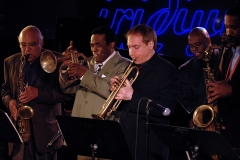 James Spaulding, Freddie Hubbard, David Weiss, Christian McBride and Javon Jackson Iridium April 2007