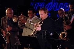 James Spaulding, Freddie Hubbard, David Weiss, Christian McBride and Javon Jackson Iridium April 2007