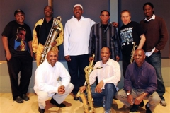 Jeff Watts, James Carter, Lee Smith, Odean Pope, David Weiss and George Burton Seated- Terrell Stafford, Walter Blanding and Billy Banks Odean Pope Record Date October 2008